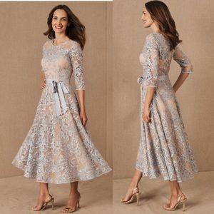BHLDN Linden Blue Midi Dress